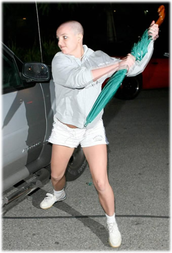 Britney Spears Umbrella Attack
