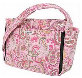 Bumble Bags Pink Paisley Kimberly Tote