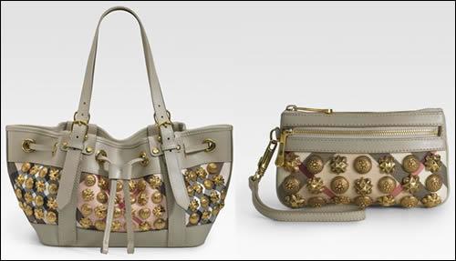 c0a0adc139ec Burberry Gold Stud Bags - PurseBlog