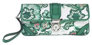 Burberry Floral Wristlet