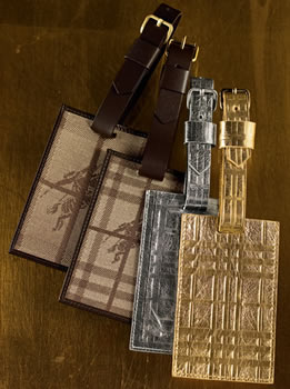 Burberry Luggage Tags
