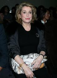 Catherine Deneuve with Prada Fairy Bag