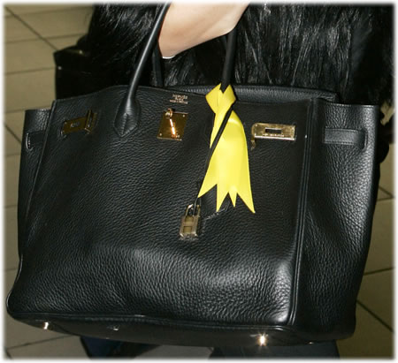 replica hermes - 35cm Hermes Blac Birkin: Name the Celeb! - PurseBlog