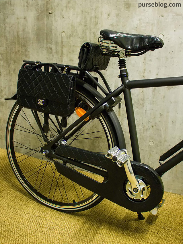 Still Pictures Are All Very Fine And >> The $17,000 Chanel Bicycle - PurseBlog