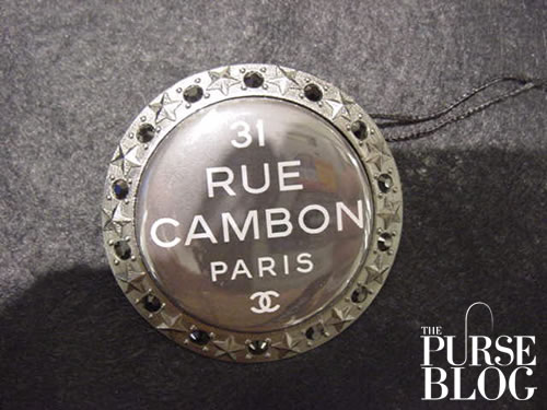 Chanel COCO MANIA brooch in black