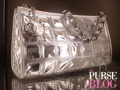 chanel ice cubes Pouchette runway bag