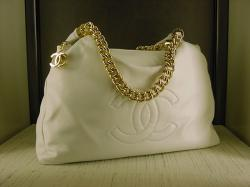 Chanel Rodeo Drive Hobo in White - $2650