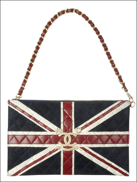 Chanel Union Jack Quilted Handbag