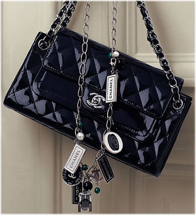 Chanel Metallic Double Flap Handbag