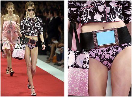 Chanel TV Belt