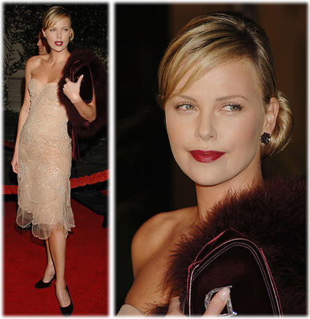 Charlize Theron at Aeon Flux Hollywood Premiere1