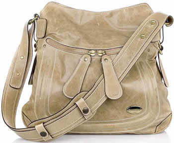 Chloe Bay Leather Shoulder Bag