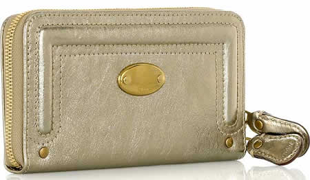 Chloe Bay Metallic Wallet
