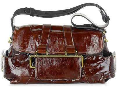 Chloe Beata Patent Shoulder Bag