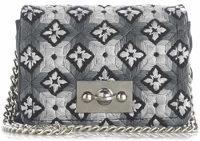 Chloe Katie Embroidered Bag