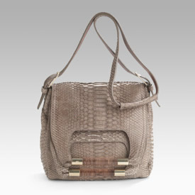 Chloe Nancy Python Shoulder Bag