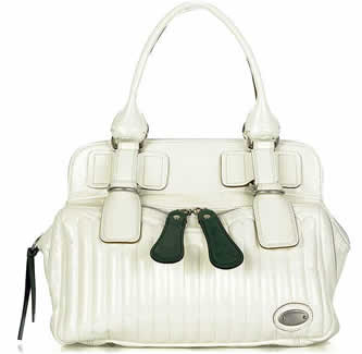 chloe patent leather bay bag