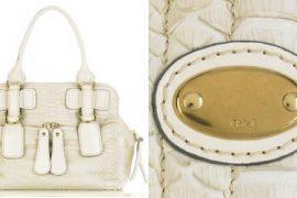 Chloe Python Bay Bag