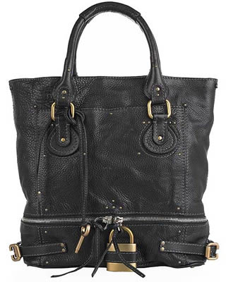 Chloe Large Leather Tote handbag