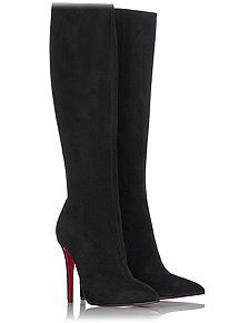Christian Louboutin Pretty Woman Suede Boots