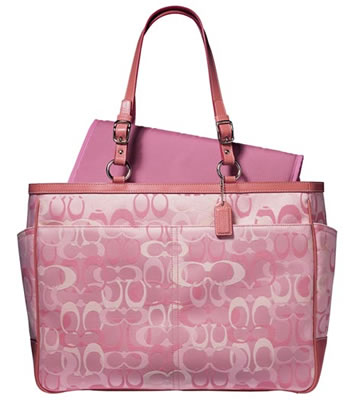 Coach Optic Signature Baby Bag