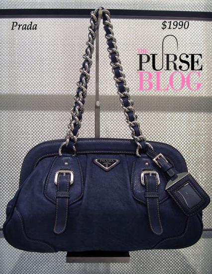 Prada Handbag in Denim
