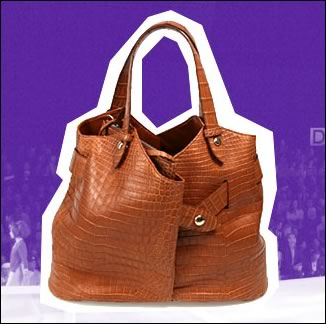 diane von furstenberg crocodile wrap bag