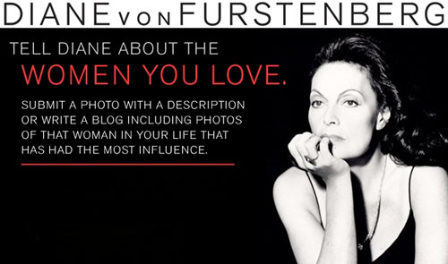 diane von furstenberg shopping spree
