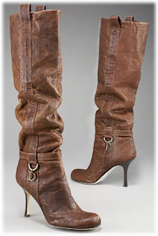 Dior Cannage Slouch Boot