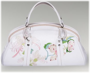 Dior Embroidered Flowers Frame Bag
