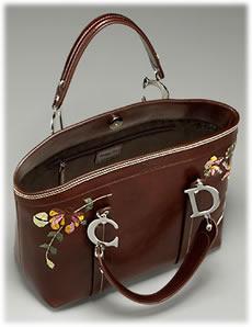 christian dior flowers handbag