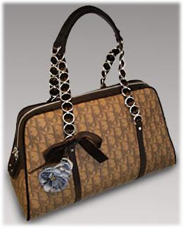 Dior Trotter Romantique Large Zipped Bag