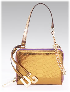 Dolce and Gabbana Watersnake Mini Bag