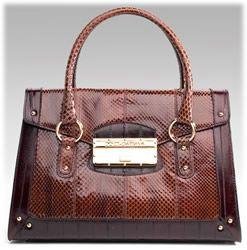 Dolce and Gabbana Eel Python Handbag