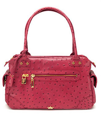 Elaine Turner Ostrich Handbag