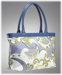 Emilio Pucci Hawa Print Large East West Bag