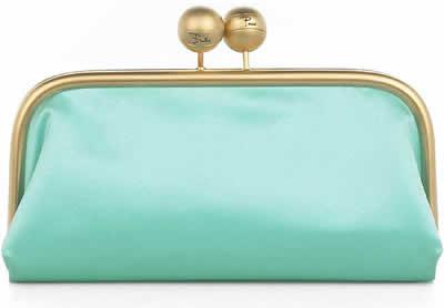 Emilio Pucci Silk Clutch Handbag