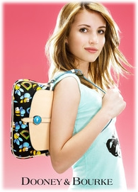 Emma Roberts for Dooney and Bourke