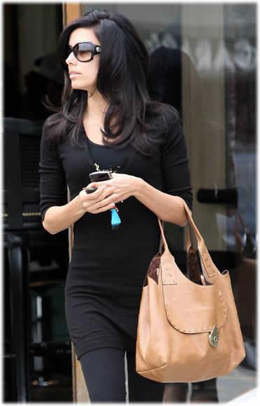 Eva Longoria Mulberry Hanover Bag