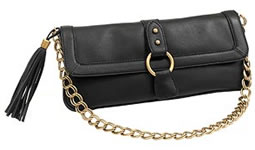 Express Front Flap Chain Handle Bag