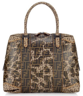Fendi B Mix Baulotto Handbag