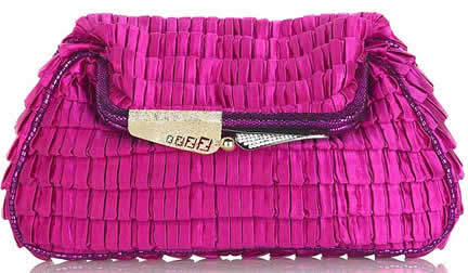 Fendi Borderline Clutch
