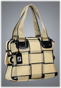 Fendi Crossword Grande Net Bag
