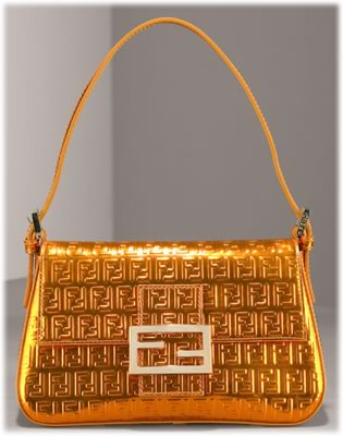 Fendi Forever Mirror Leather Bag