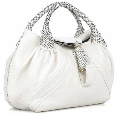 Fendi Ivory Spy Bag