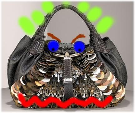 fendi large sequin spy bag