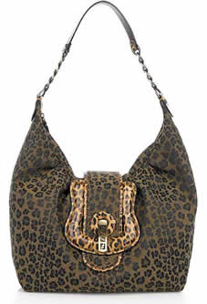 Fendi Leopard B Bag