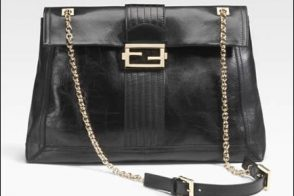 Fendi Maxi Baguette Shoulder Bag