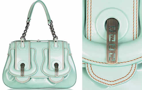 77f400c9890d Fendi Patent Leather B Bag - PurseBlog