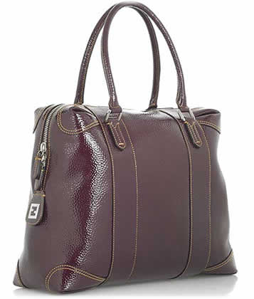 Fendi Patent Leather Bag